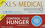 XLS Medical Appetite Reducer Diet Caspules for Weight Loss, 30 Capsules