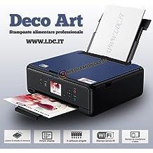 Impresora Alimentos Deco Art–Nera–Escáner–A4–Bandeja Trasera–con 5cartuchos gratis