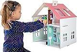 Furtwängler Puppenhaus aus Pappe zum Bekleben