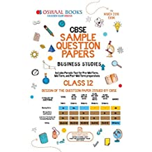 Oswaal CBSE Sample Question Papers Class 12 Business Studies (For March 2019 Exam)
