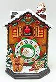 Il mondo dei carillon Mmm GmbH, 857808 Carillon Casa di Babbo Natale, Il Regalo Ideale per Natale, Come Oggetto da Collezione per Gli Amanti della Musica, Come Souvenir