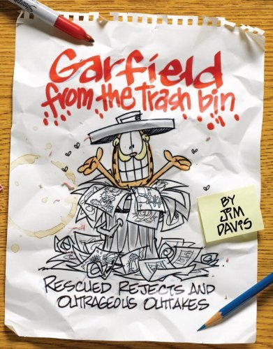 Garfield from the Trash Bin: Rescued Rejects and Outrageous Outtakes by Jim Davis (Editor, Illustrator) ᅵ Visit Amazon's Jim Davis Page search results for this author Jim Davis (Editor, Illustrator), Brett Koth (Editor, Illustrator), Mark Acey (Editor), (2-Aug-2010) Paperback