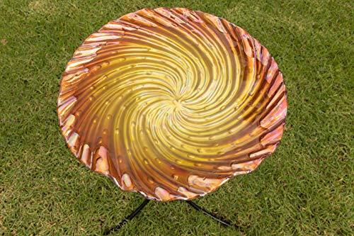 Alpine Corporation kpp464or-1845,7cm orange swirl Vogeltränke