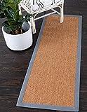 Unique Moderne Empfangsbereich von 3M wahr (2'x 10') Tischläufer Sisal Hellbraun aktuellen Bereich Teppich