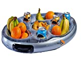 PonZE New Inflatable Floating Spa Bar Pool Hot Tub Side Tray For Food Drinks Snacks - PonZE Home Series - amazon.co.uk