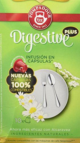 Pompadour - Infusión Digestive Plus En Cápsulas - [Pack de 2]