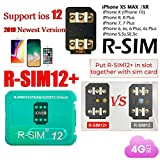 Amyove Die R-SIM Nano Unlock-Karte für RSIM 12+ Plus 2019 ist für iPhone X / 8/7/6 / 6s 4G iOS 12.3 geeignet