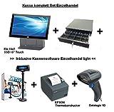 Kassensystem Einzelhandel Bundle SET Kasse inkl Software Finanzamtkonform