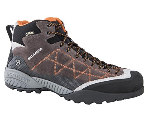 Scarpa Zen Pro Mid GTX marron gris orange