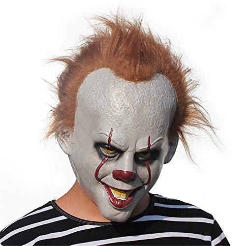 JTWJ Maske Hot Latex Clown Kopfbedeckung Halloween Explosion Maske Clown Returning Maske