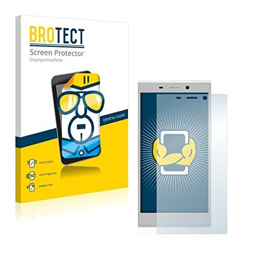 2X BROTECT HD Clear Bildschirmschutz Schutzfolie für Gionee Elife E8 (kristallklar, extrem Kratzfest, schmutzabweisend)