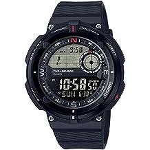 Casio Reloj Digital para Hombre de Cuarzo con Correa en Resina SGW-600H-1BER