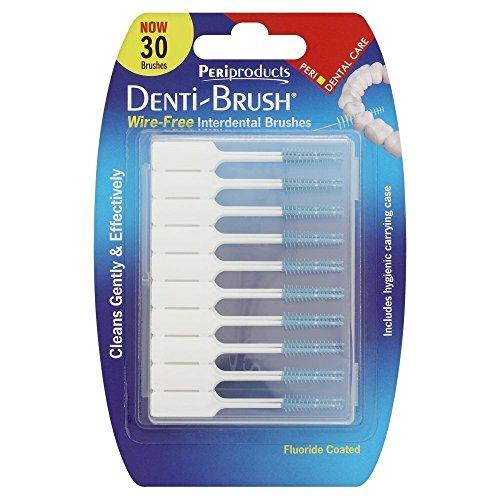 Denti-brush paquets de 30brosses interdentaires sans fil - Lot de 2