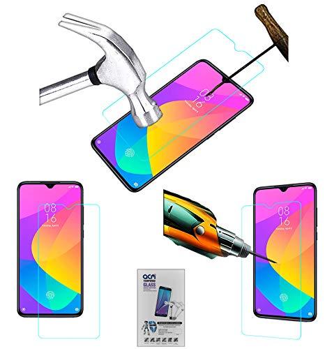 Acm Tempered Glass Screenguard Compatible with Xiaomi Mi 9 Lite Mobile Screen Guard