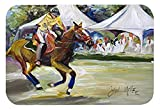 """Caroline's Treasures JMK1008JCMT """"Polo At the Point"""" Kitchen or Bath Mat, 24"""" by 36"""", Multicolor"""