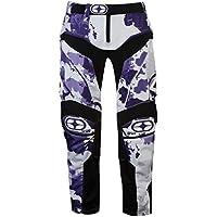 No Fear Unisex Technical Motocross Pants Zip Mesh Camouflage Stretch Print