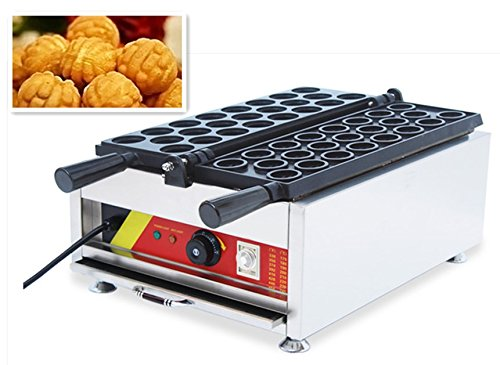 cgoldenwall NP 738 Commercial Party Queen Piastra per waffle gefuellt WAFFEL Herd Noce forma macchina waffle antiaderente per cialde Baker 220V