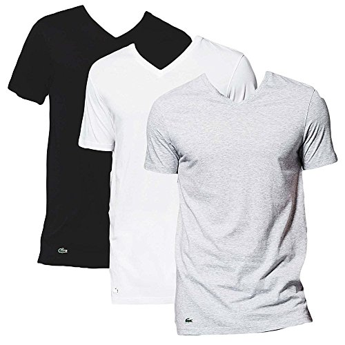 lacoste-essentials-supima-cotton-3-pack-v-neck-t-shirt-black-grey-white-multicoloured-medium