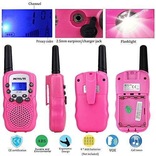 Zoom IMG-2 retevis rt388 walkie talkie bambini