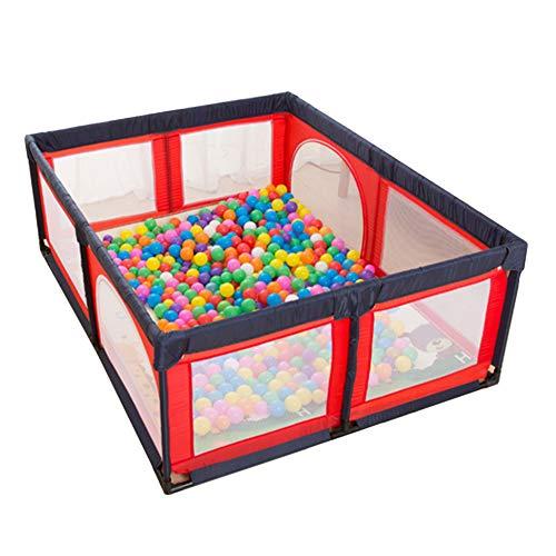 Laufstall Große tragbare Playpens 8-Panel, gefalteter Baby-Spielplatz