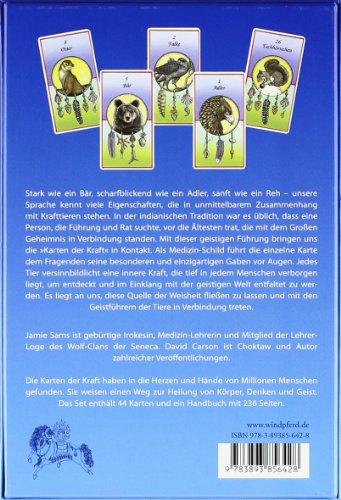 Karten der Kraft: Buch + 44 Tierkarten - Eine schamanische Einweihung in die »Medizin« der Krafttiere - 2