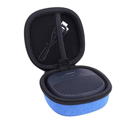 für BOSE SoundLink Micro Bluetooth Lautsprecher Hart Case Hülle Taschen von Aenllosi (Blau) Micro Case