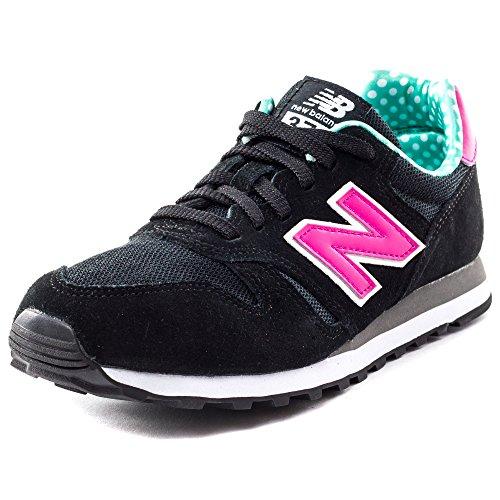 New Balance487661 50 - Scarpe da Ginnastica Basse Donna nero / rosa