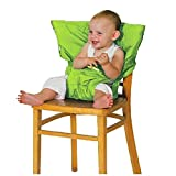 Seggiolino per Bambini Baby Chair Booster Infant Portable Feeding Safety Belt Seat immagine