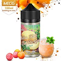 IMECIG 100ml E líquido Ice Melon Bubblegum Liquido Vaper Para Cigarros electronicos 70/30 E Liquid Cigarrillo.
