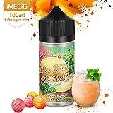 IMECIG 100ml Vape Liquid Ice Melon Bubblegum Premium Vape Juice 70/30 E Liquid