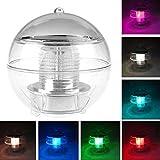 LemonBest® Solar LED Schwimmkugel