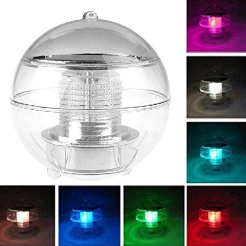 LemonBest® Solar LED Schwimmkugel, 7 Farben, die Floating Pool Light Show, Landschaft Pond Spa Whirlpool-Kugel-Licht