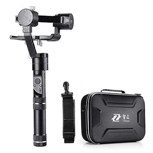 Zhiyun Crane-M 3 Axis Brushless Hand-Kardan-Drei 32-Bit-MCUs, 360 Grad Unbegrenzte Rotation, 12 Stunden Laufzeit, 125g bis 650g Nutzlast für Smartphones / Action-Kameras / DC / Mirrorless Kameras