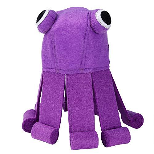 Im Baby Kostüm Autositz - QDZSQFF Katze KostüM MüTze Pet Octopus KostüM Cosplay Kopfbedeckung Hut Hund KäTzchen Halloween Partyabend Fancy Dress Up Dekoration (2 StüCk) 25-34Cm