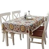 Mantel de hotel, comedor informal Mantel redondo, mantel de conferencia, mantel personalizado de arte, tamaños múltiples mantel ( Tamaño : 140*140CM )