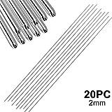 Teekit Easy Aluminium Welding Rods Low Temperature 20Pcs 2mm Sin Necesidad de Polvo de Soldadura