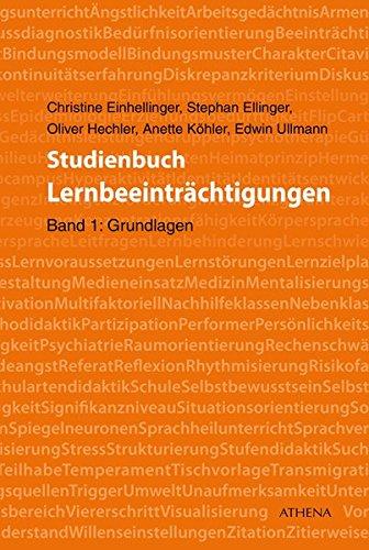 Studienbuch Lernbeeinträchtigungen: Band 1: Grundlagen
