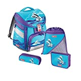 Step by Step Comfort Schulranzen-Set 4-tlg. Happy Dolphins happy dolphins