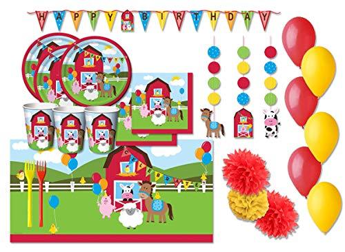 Creative Converting Kit n 54 f Granja coordinada cumpleaños...
