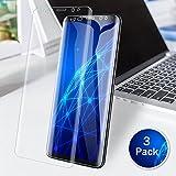 LK [3 PACK] Samsung Galaxy S9 Plus Protector de Pantalla [Case Friendly], [Full Coverage] PET flexible película TPU flexible con garantía de reemplazo de por vida