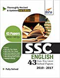 #6: SSC English Topic-Wise Latest 43 Solved Papers (2010-2017)