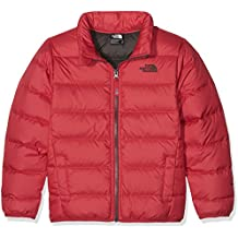 The North Face B Andes Jacket - Chaqueta para niños, color rojo (Red/TNF Red), talla M