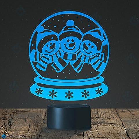 mt-kids-lamp - Christmas Snow Globes