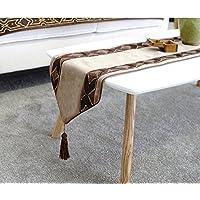 Tavolo da pranzo semplice e alla moda corridore della tabella/coffee table table runner/sciarpa letto/bandiere di colore solido del letto elegante/tovaglia-A 30x180cm(12x71inch)