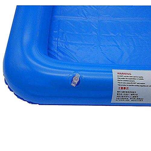 VANKER Inflable grande Castillo Sandbox Sandbox forma de tabla Juguetes