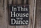 Panneau en Bois in This House We Dance Bar Decor She Cave Dorm Hippie Musique...