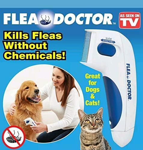 Flea Doctor,Elektrische Bürste Kamm Kopf Läuse Entfernung Hund Reinigung Capture Tool