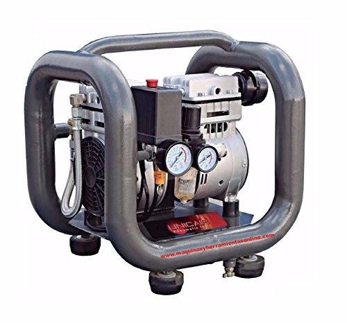 Compresor silencioso Unicair CS-1.0/3L 1Hp/3L sin aceite