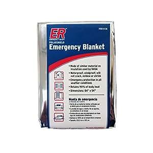 Quake Kare couvertures thermiques d'urgence (4 Pack)
