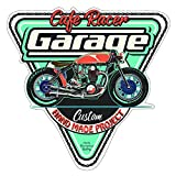 Finest-Folia Retro Vintage Aufkleber Sticker Old School Ace Kult Rockabilly (#34 Cafe Racer Custom)